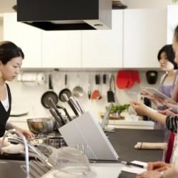 料理教室のできるキッチン #1 塩出尚子さん