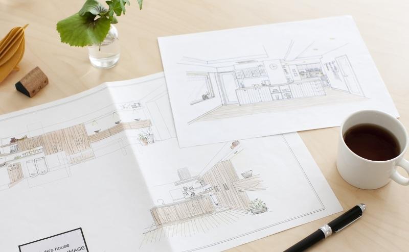 インテリアBOOK :: HOME KITCHENS-illustration