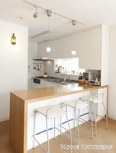 インテリアBOOK :: HOME KITCHENS-I型キッチン